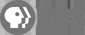 Grey PBS logo